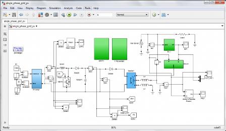 شبیه سازی فتوولتاییک PV متصل به شبکه مسکونی بوسیله  MPPT با MATLAB