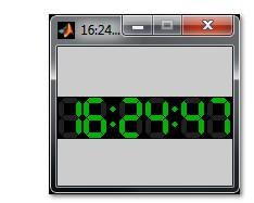 دانلود شبیه سازی ساعت دیجیتال در نرم افزار متلب