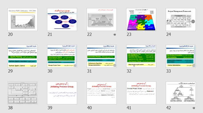 """دانلود پاورپوینت و pdf """"دوره آشنایی با مدیریت پروژه"""" در 229 اسلاید"""