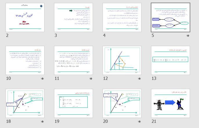 """پاورپوینت و pdf """"تحلیل پوششی داده ها"""" در 79 اسلاید"""