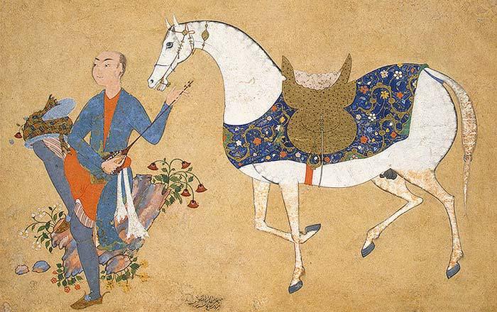 نقش اسب در شاهنامه ي فردوسی