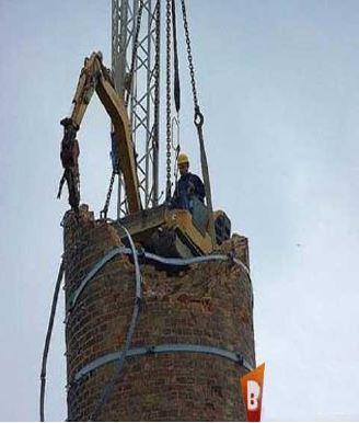 روش های تخریب سازه های فولادی