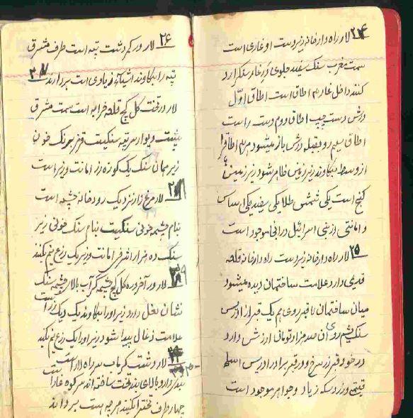 گنجنامه وزیری شیخ بهایی و  نسخه نامه شیخ بهایی در 2100 سند ار نقاط مختلف