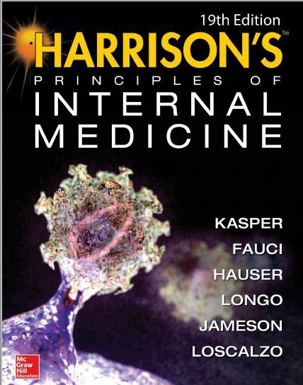 کتاب اصول پزشکی داخلی هاریسون ٬ ویرایش 19