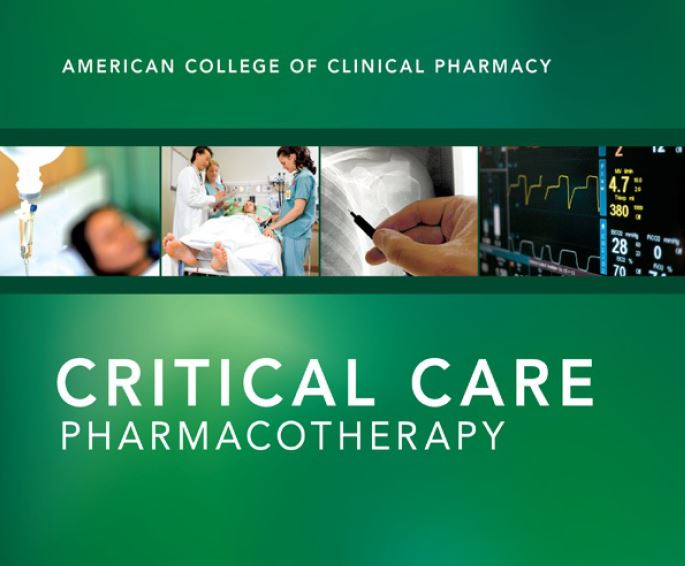 Critical Care Pharmacotherapy book pdf