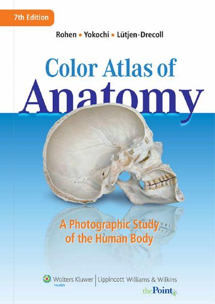 Color Atlas of Anatomy  اطلس رنگی از آناتومی