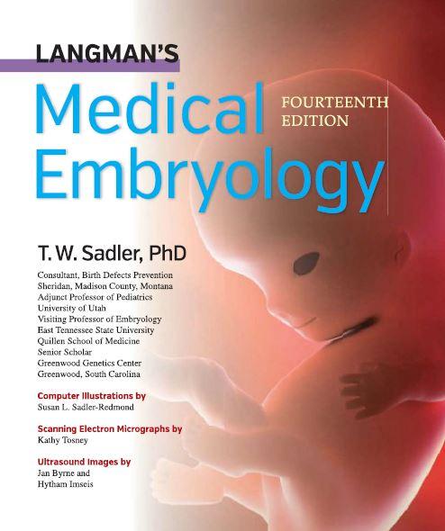 LANGMANS Medica EDURORINTA Embryology FOURTEENTH  EDITION