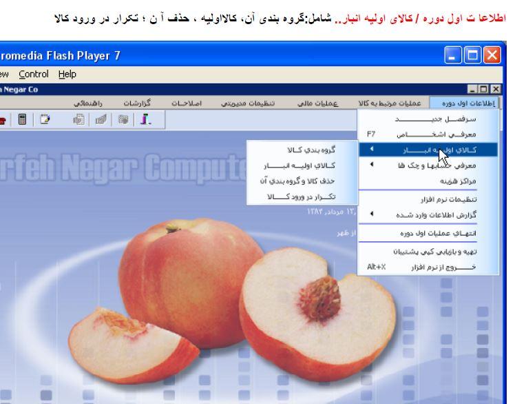 آموزش نرم افزار حسابداری هلو همراه با تصویر  با فرمت پی دی اف