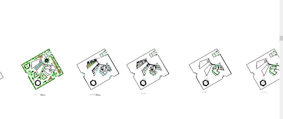 اتوکد دو بعدی , و رویت سه بعدی نگارخانه