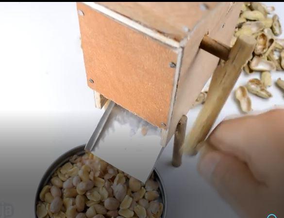 خرید کلیپ آموزشی ساخت دستگاه جدا کننده پوست بادام زمینی