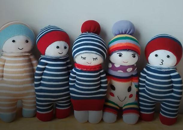 خرید فیلم آموزش ساخت عروسک با جوراب