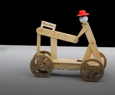 خرید فیلم آموزشی ساخت یک ربات متحرک دوچرخه سوار