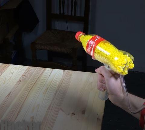 خرید فیلم آموزش ساخت تفنگ اسباب بازی با قوطی نوشابه