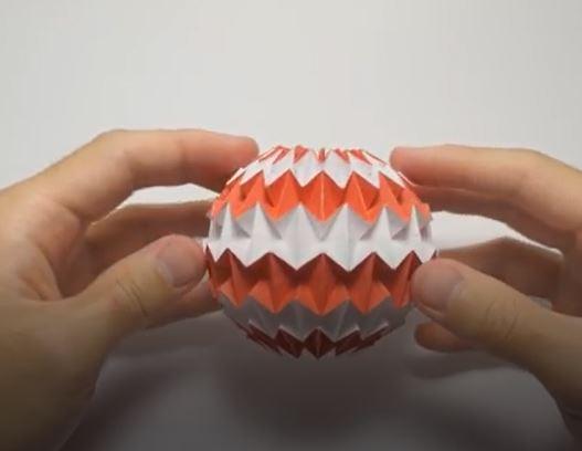 خرید فیلم آموزش ساخت اوریگامی توپ جادویی