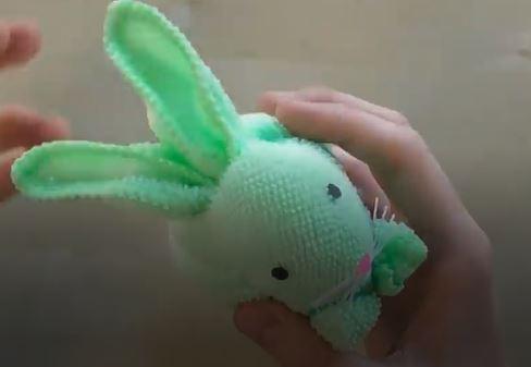 خرید فیلم آموزش ساخت کاردستی خرگوش با حوله