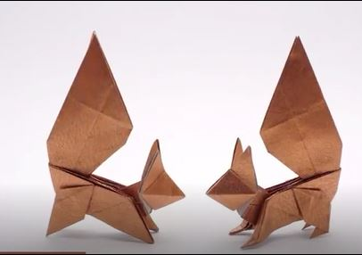 خرید فیلم آموزش کاردستی سنجاب اوریگامی