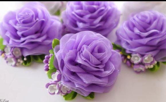 خرید فیلم آموزش گل رز، آموزش گل دوزی گل رز