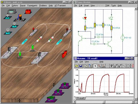 نرم افزار مهندسی ساخت مدار الترونیکی ادیسون4