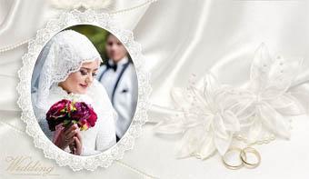 فریم لایه باز عروس و داماد