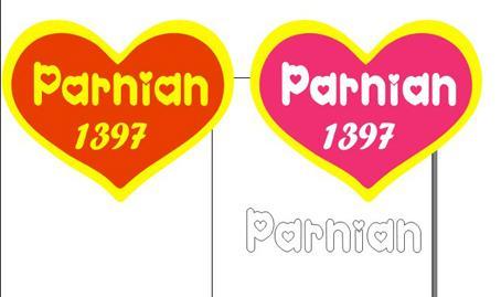 طرح کورل 12 parnian