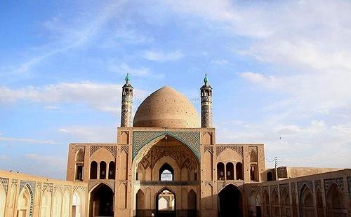 تحقیق کامل درباره مسجد جامع کاشان