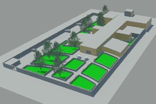 پروژه کامل طرح موزه برای درس طراحی معماری