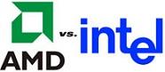 مقایسه ریزپردازنده های Intel و AMD (فرمت فایل Word ورد )تعداد صفحات 8