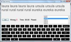 دانلود پروژه نرم افزار آموزش تایپ با سی شارپ