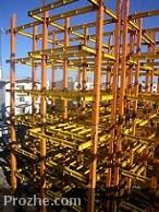 دانلود گزارش کارآموزی ساختمان فلزي