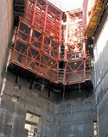 دانلود مقاله اجرای ساختمان ها با قالب لغزنده