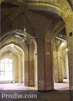 دانلود پلان و نقشه مسجد جامع شبستر