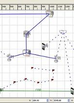 بررسی شبیه سازی شبکه و پیاده سازی در شبکه های حسگر بیسیم