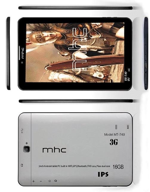 دانلود رام تبلت mhc MT749 با مشخصه K16-MB-V1.2 فول فلش