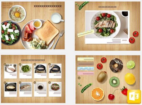 قالب آموزش آشپزی