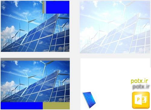 قالب پانل خورشیدی