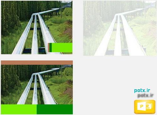 قالب مسیر انتقال گاز