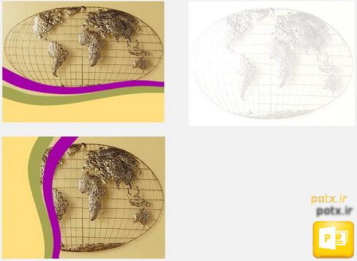 قالب کره  جغرافیایی فلزی
