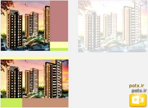 قالب برج مسکونی