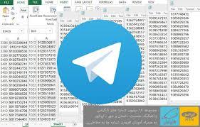 دانلود بانک شماره های تلگرامی به تفکیک مشاغل