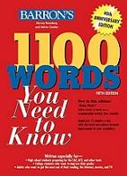 1100TOEFL کلمه ضروری در انگلیسی