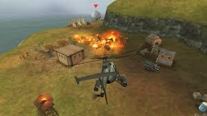 بازی جنگی هلیکوپتر برای اندرویدgunship