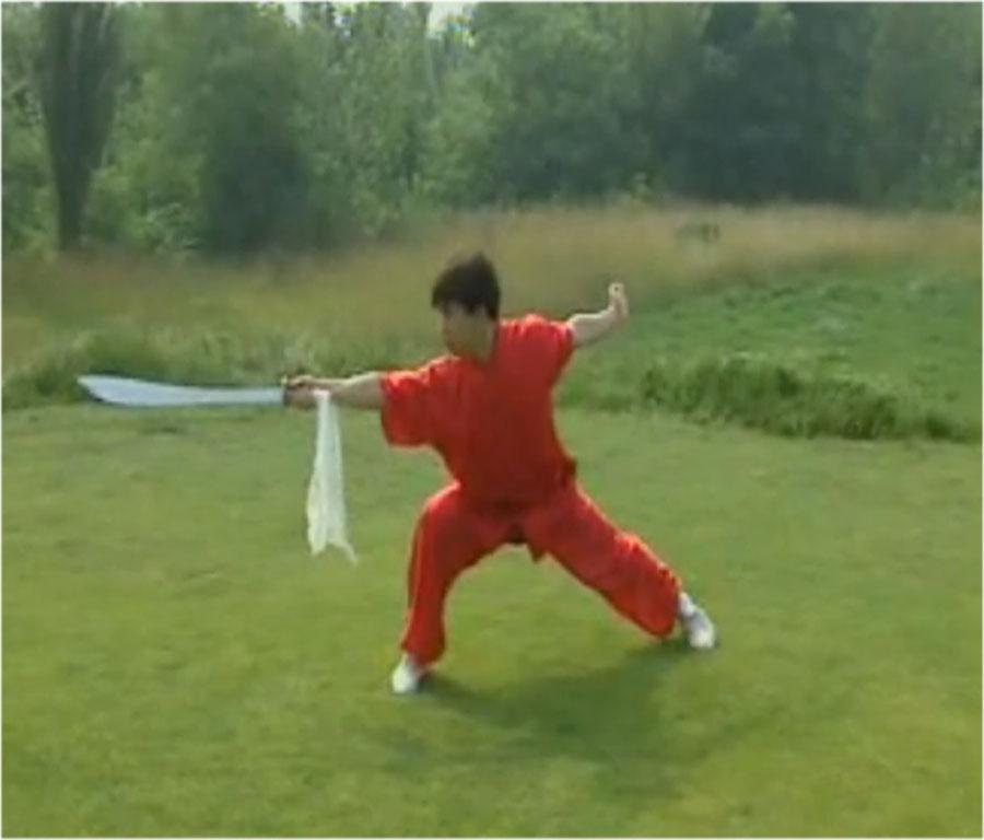 آموزش کامل فرم دائوشو ( شمشیر پهن ) ووشو
