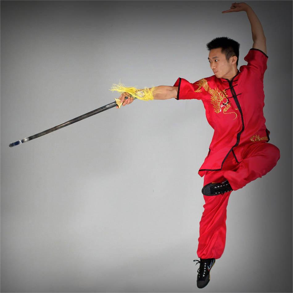آموزش  شمشیر باریک ( جین شو ) ووشو به زبان اصلی