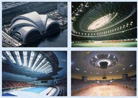 پاورپوینت فناوریهای نوین و كاربرد سازه های فضاكار در طراحی و اجرای فضاهای ورزشی - همراه با هدیه ویژه