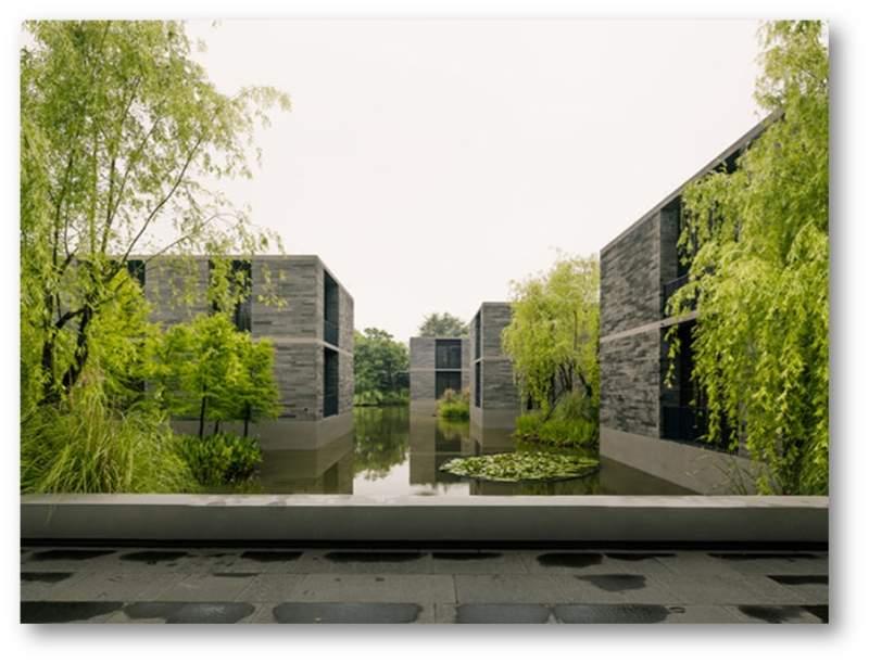 پاورپوینت بررسی خانه های شناور هانگژو - نمونه مشابه مسکونی