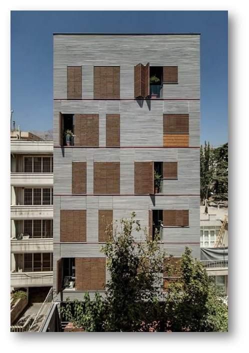 پاورپوینت بررسی ساختمان مسکونی اندرزگو - نمونه مشابه مسکونی