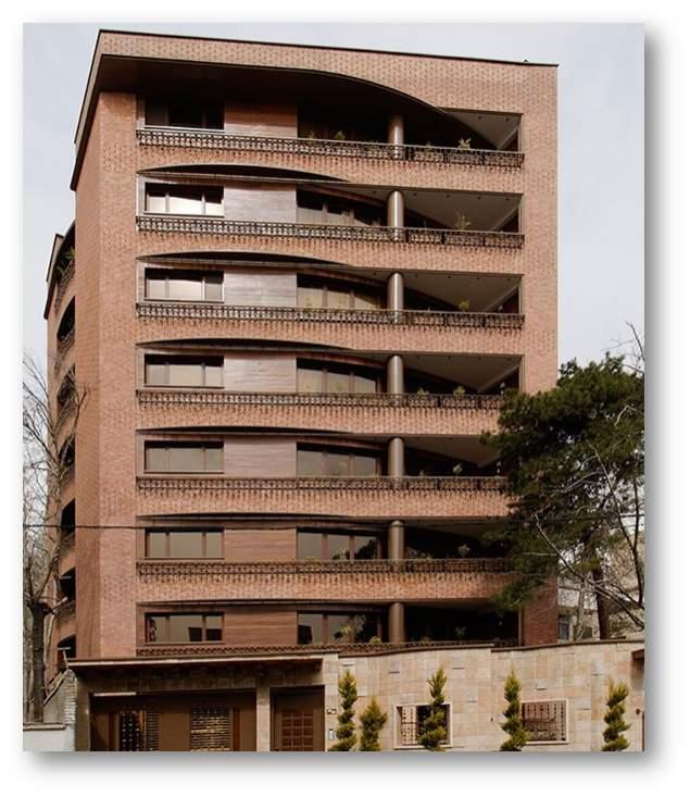 پاورپوینت بررسی ساختمان مسکونی نخجوان - نمونه مشابه مسکونی