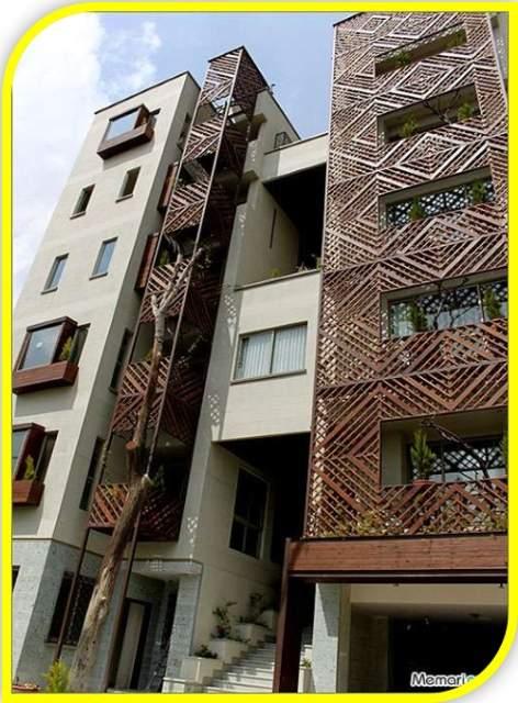 پاورپوینت بررسی مجتمع مسکونی باغ ونک تهران - نمونه مشابه مسکونی