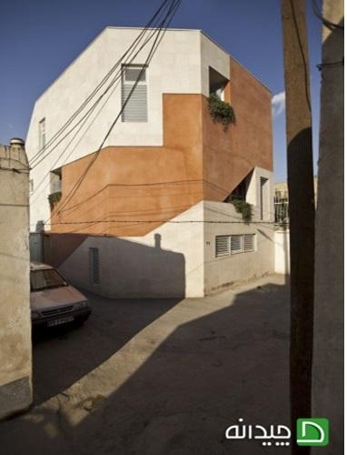 پاورپوینت طراحی نمای خانه بید آباد هماهنگ با بافت تاریخی - نمونه مشابه مسکونی