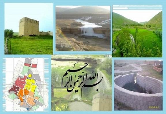 پروژه کامل درس روستا 2 - بررسی روستای قاشقچی